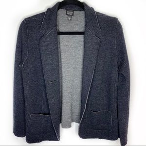 Eileen Fisher charcoal wool cardigan size Small